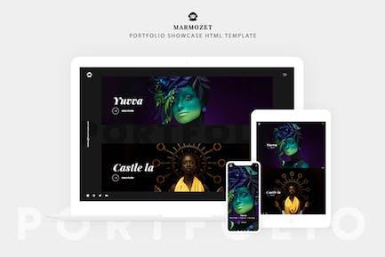 Marmozet - Portfolio Showcase HTML5 Vorlage