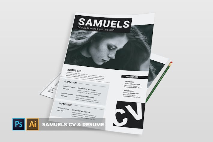 Cover Image For Samuels  | CV & Resume