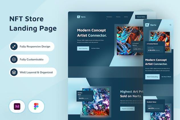 NFT Store Web Design