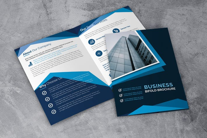 Thumbnail for Bussiness Bifold Brochure