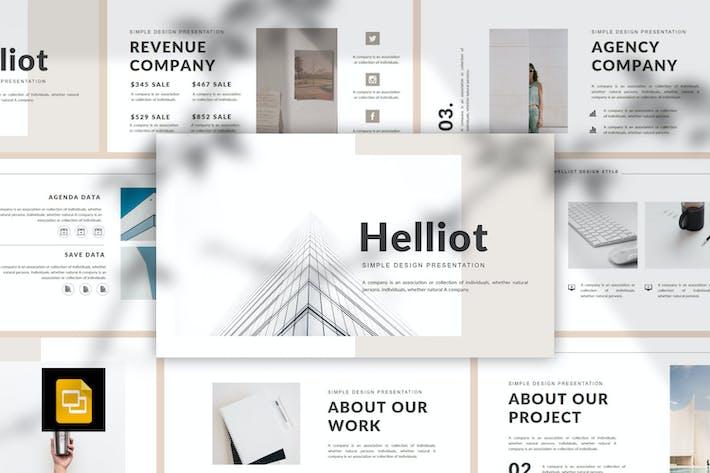 Thumbnail for Helliot - Multipurpose Google Slides Template