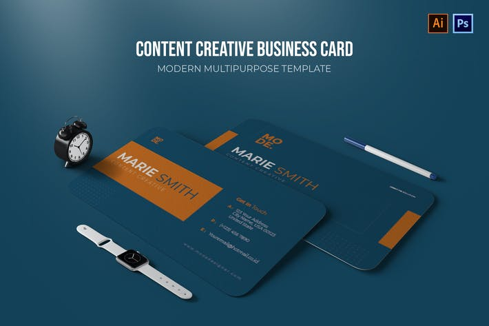 Thumbnail for Content Creative - Business Card