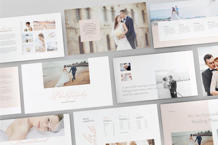 Thumbnail for Hochzeitsfotografie - Google Slide Vorlage V100