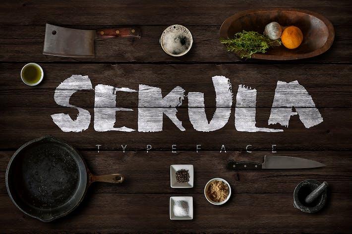 Thumbnail for Sekula Script Typeface