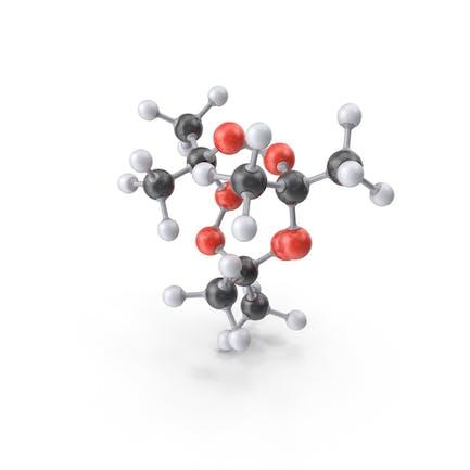 Triacetone Triperoxide Molecule