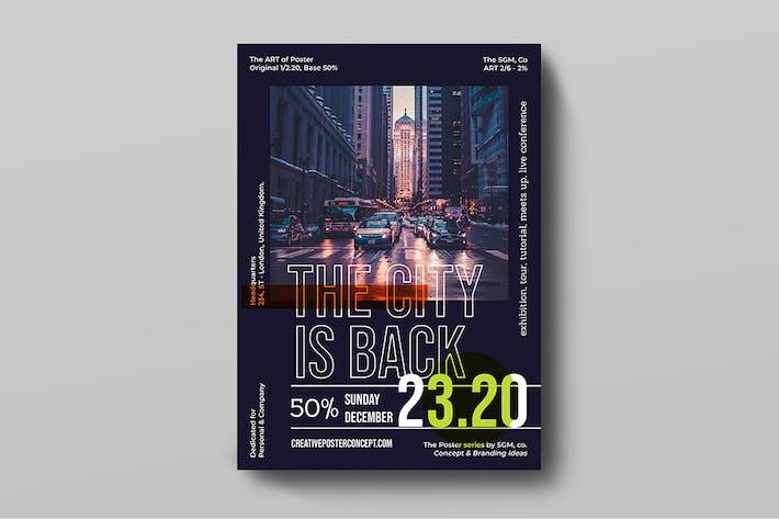 Thumbnail for Kreatives Poster