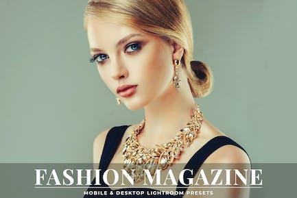 Fashion Magazine Mobile & Desktop Lightroom Preset
