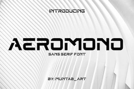 Aeromono | Modern Sans