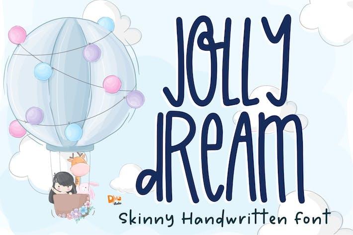 Thumbnail for Jolly Dream - Skinny Handwritten