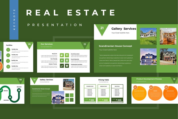 Thumbnail for Real Estate Keynote Presentation