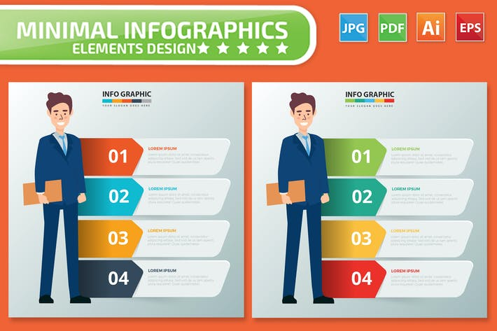 Thumbnail for Дизайн бизнес-Инфографика