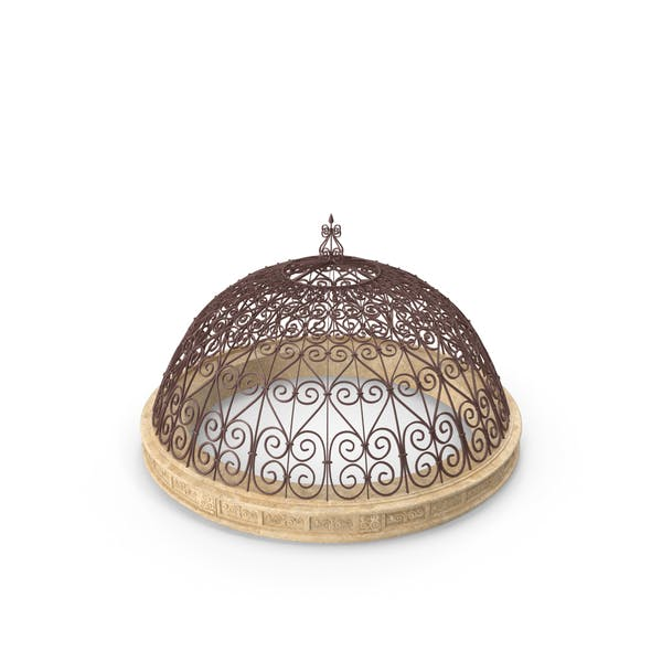 Antique Metal Dome Roof