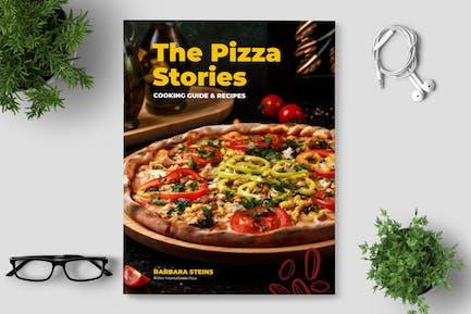 Pizza Cookbook / Recipe Book Template