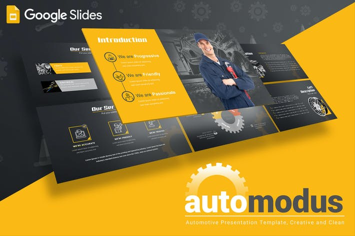 Thumbnail for Automodus - Google Slides Template