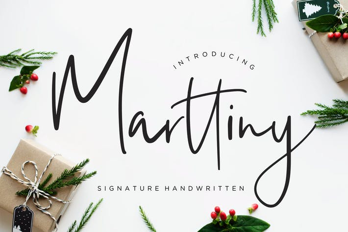 Thumbnail for Marttiny Signature Handwritten