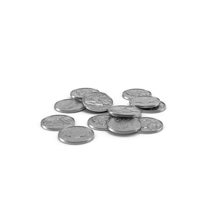 US Nickel Pile