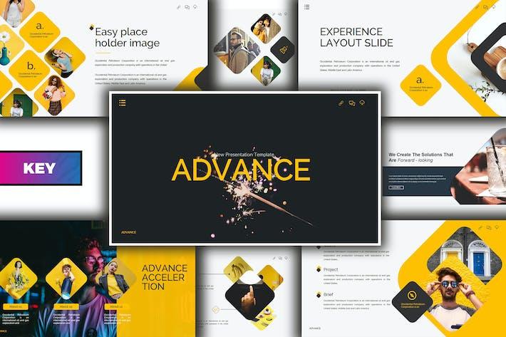 Thumbnail for Advance Lookbook Keynote Template