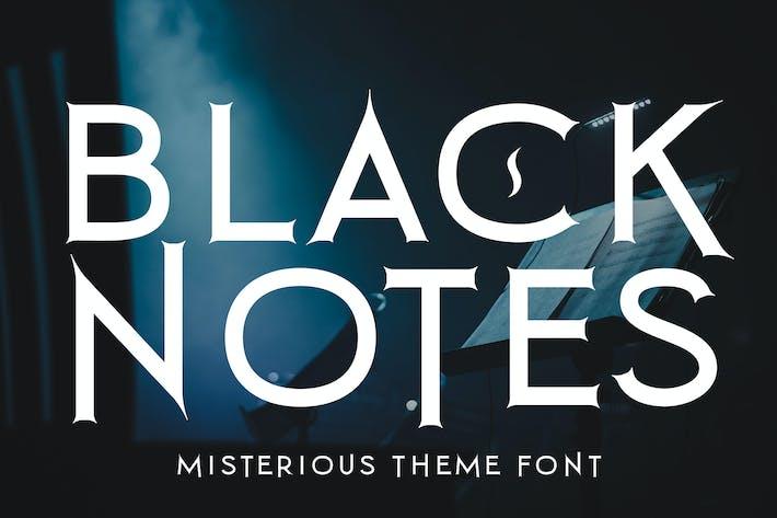 Thumbnail for Notas negras