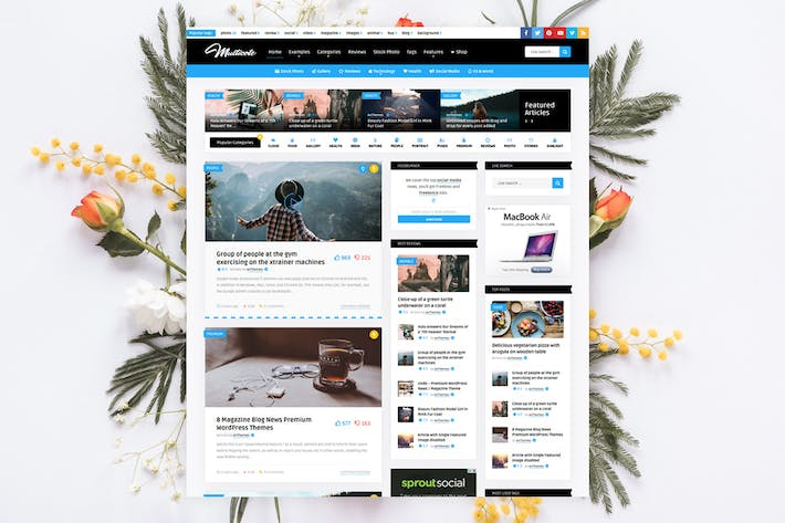 Thumbnail for Multicote - News Magazine / WooCommerce WP Theme