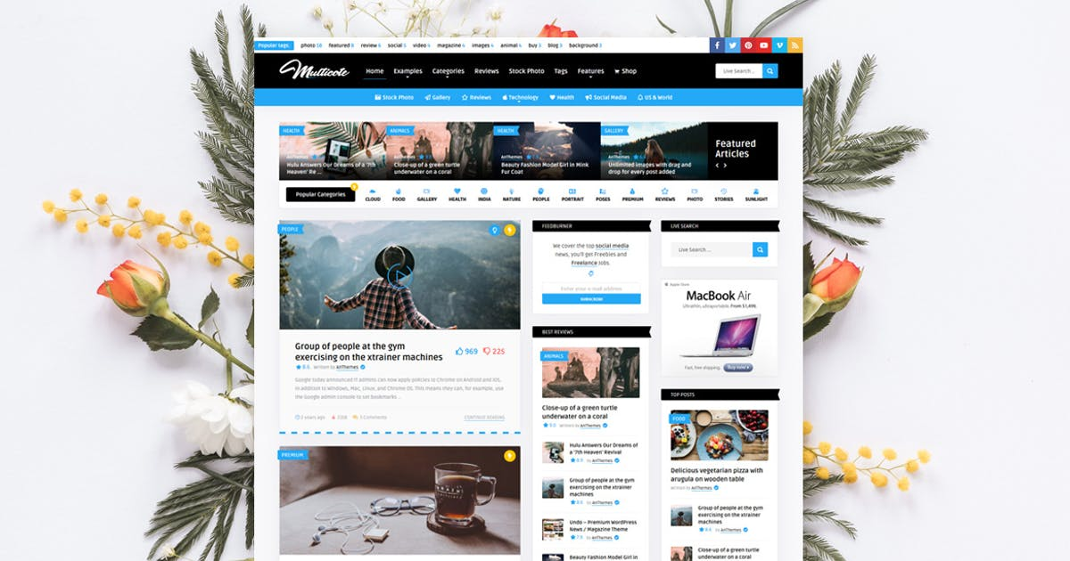 Download Multicote - News Magazine / WooCommerce WP Theme by An-Themes