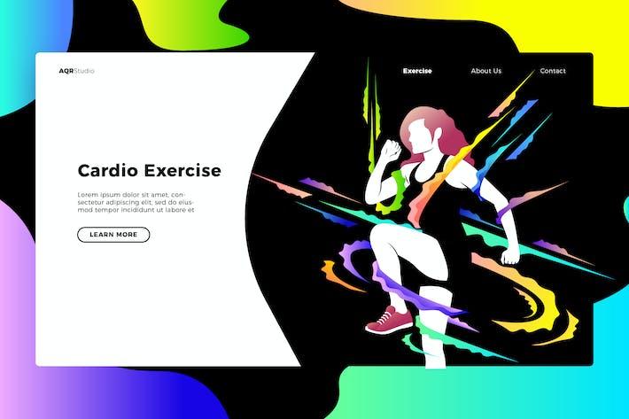 Cardio - Banner & Landing Page