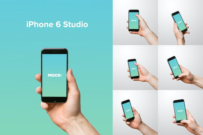 Thumbnail for iPhone 6 Studio Mockups