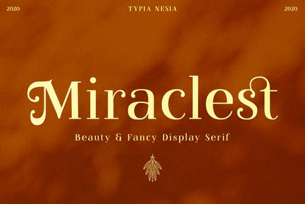Miraclest Hermoso Con serifa