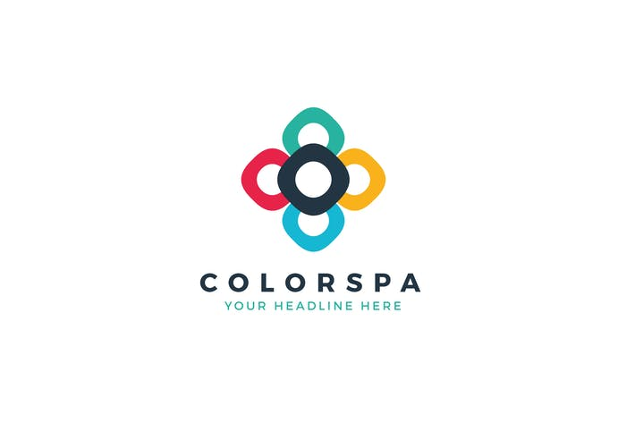 Thumbnail for ColorSpa Logo Template