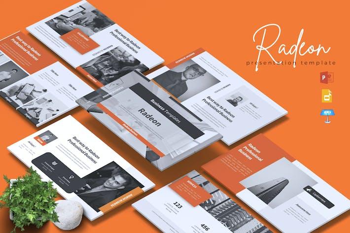 Thumbnail for RADEON - Business Powerpoint/Google Slide/Keynote