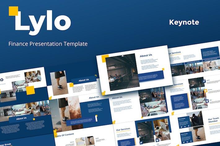 Lylo - шаблоны презентаций основных заметок
