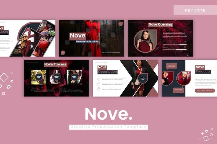 Thumbnail for Nove - Keynote Template