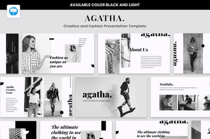 Thumbnail for AGATHA - Creative Fashion Presentation Keynote