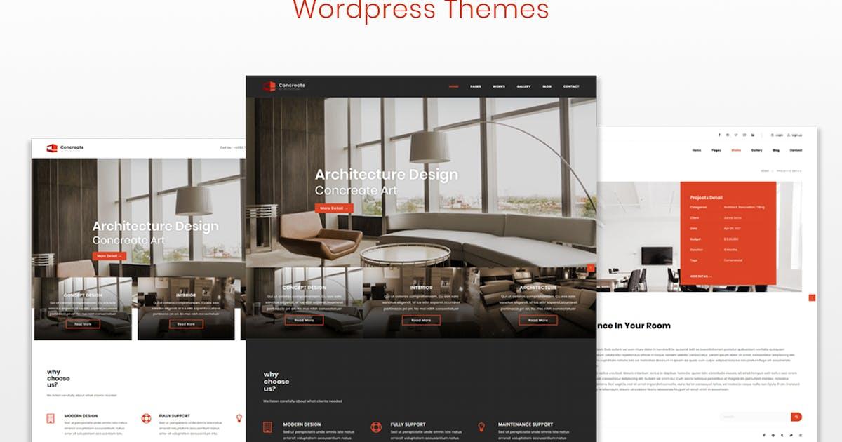Download Concreate - Interior Architecture WordPress Theme by shtheme
