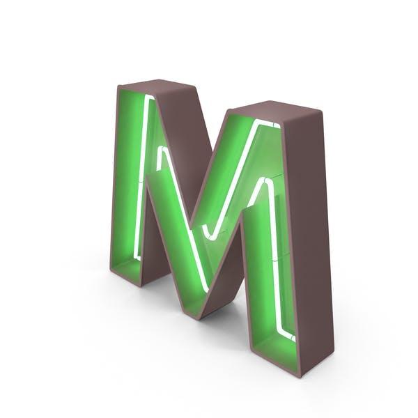 Thumbnail for Неоновая буква M