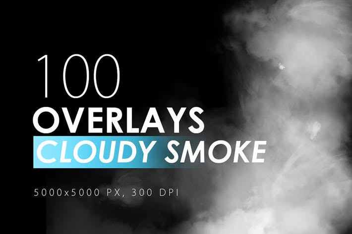 Thumbnail for 100 Cloudy Smoke Overlays