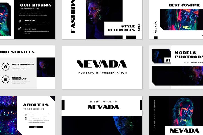 Thumbnail for Nevada Powerpoint Presentation