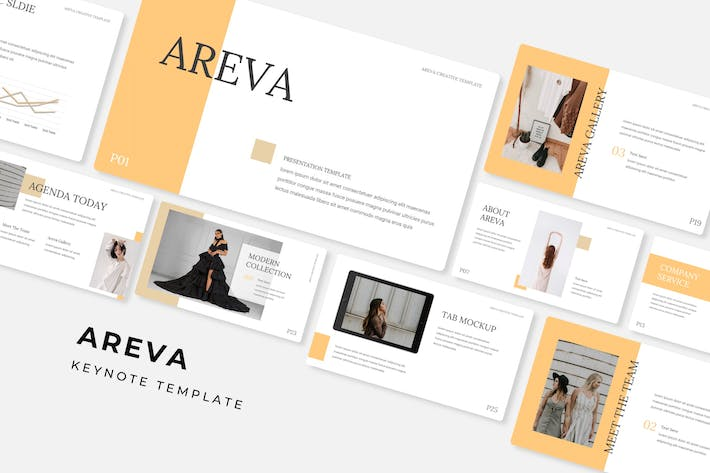 Cover Image For Areva - Keynote Template