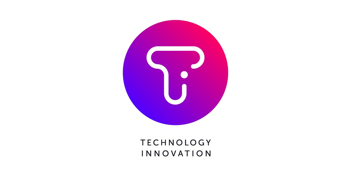 Download Technology Innovation T Letter Logo Template by Pixasquare