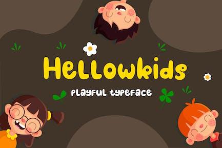 Hellowkids - Fun Children Tipo de letra