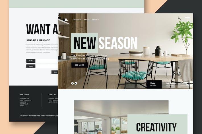 Thumbnail for Furniture & Interior Design - Website