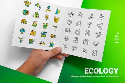 Ökologie - Icons