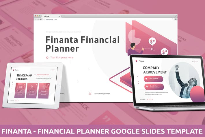 Thumbnail for Finanta - Financial Planner Google Slides Template