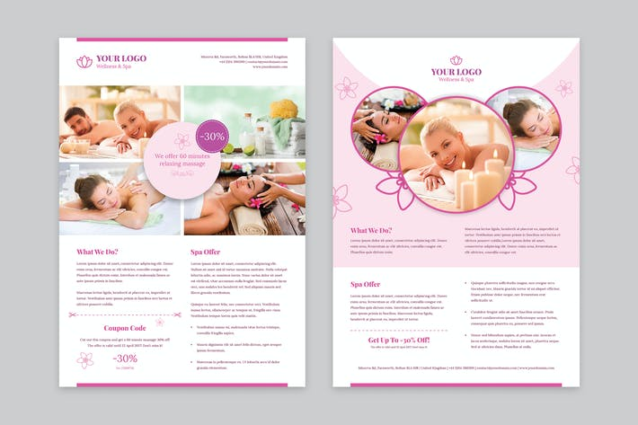 Thumbnail for Flyer – Wellness and Spa