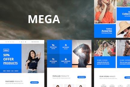 Mega - 35+ Module E-Mail-Vorlagen