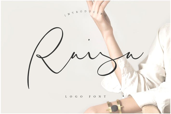 Thumbnail for Raisa Script - Logo Font