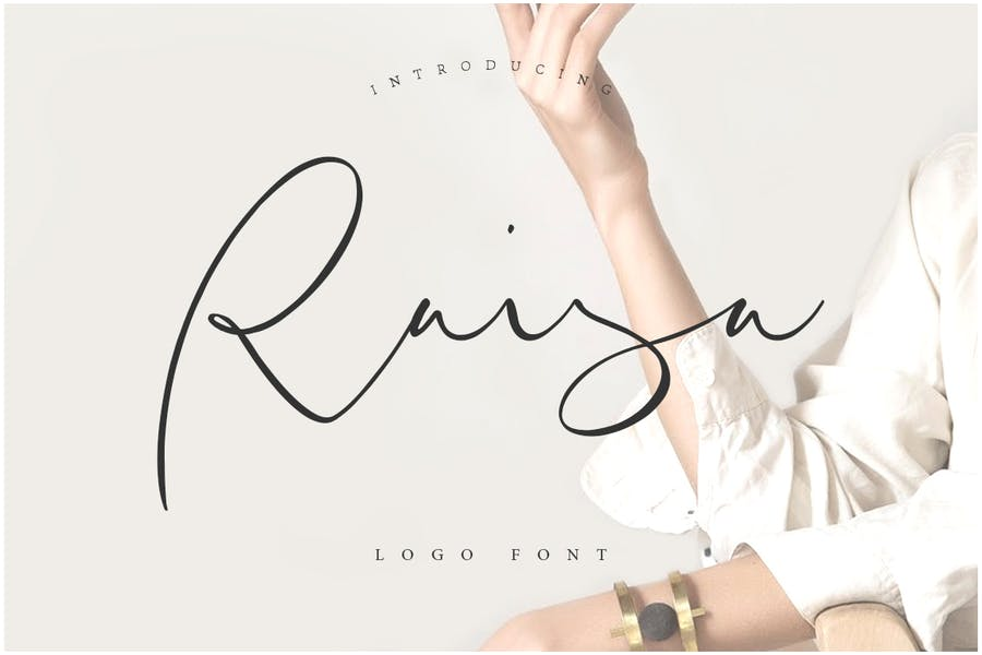 Raisa Script - Logo Font