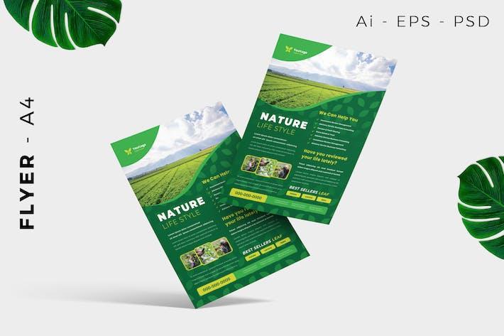 Thumbnail for Nature Green Farmer Flyer