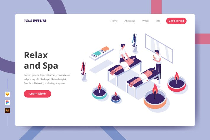 Thumbnail for Relax and Spa - Landing Page