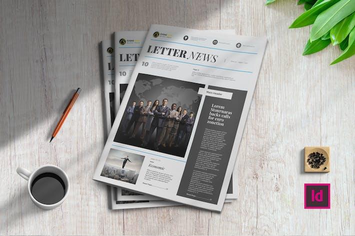 Thumbnail for Letter News | Newsletter Template