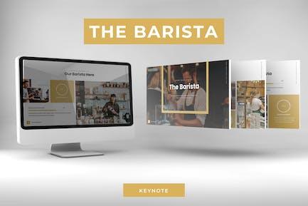 Бариста - Шаблон Keynote